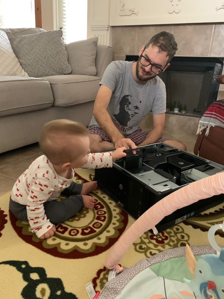 Server maintenance with the intern